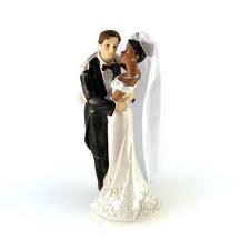 figurine de mariage couple mixte - Figurine Mariage Mixte