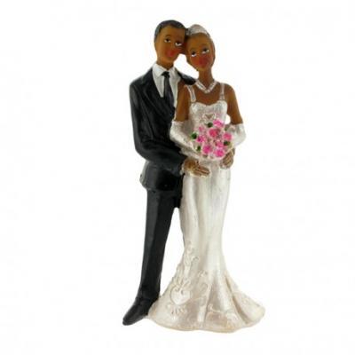 Couple de Mariés Créoles