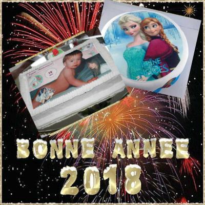 Photocomestible bonne annee 2019